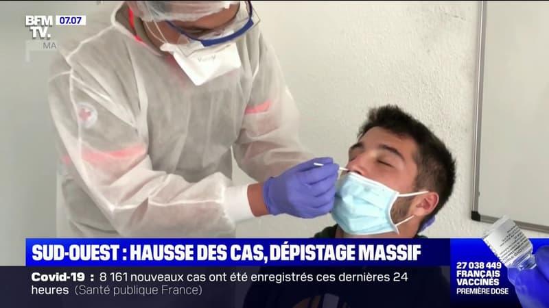 des dépistages massifs dans les Pyrénées-Atlantiques face à la remontée du taux d'incidence