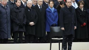 François Hollande aux Invalides, le 27 novembre 2015