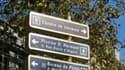"""La mairie a installé un panneau """"Chemin de traverse"""" dans le 19e."""