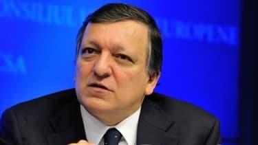 José Manuel Barroso, le président de la Commission européenne.