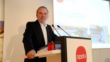 Le patron du promoteur immobilier Nexity était ce jeudi l'invité de Stéphane Soumier sur BFM Business.