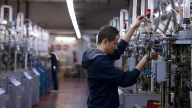 Le climat des affaires dans l'industrie prend un point en octobre.