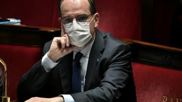 Le Premier ministre Jean Castex, le 13 avril 2021 à Paris
