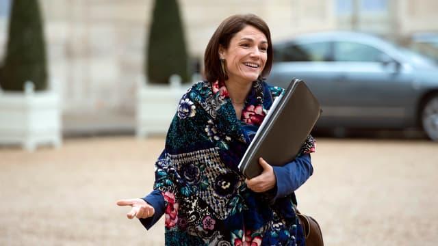 Chantal Jouanno à l'Elysée en novembre 2014.