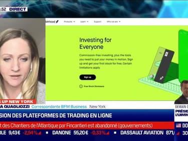 What's up New York : Explosion des plateformes de trading en ligne - 27/01