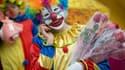 Un clown à Pékin, en Chine, en février 2013.