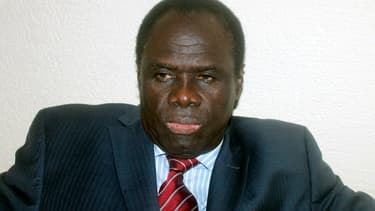 Michel Kafando, président de transition du Burkina Faso