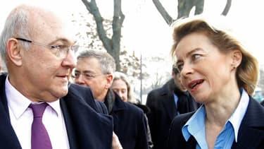 Le minsitre de l'Economie Pierre Moscovici et la ministre allemande du Travail Ursala Von der Leyen veulent soutenir l'emploi des jeunes en Europe, notamment en Espagne.