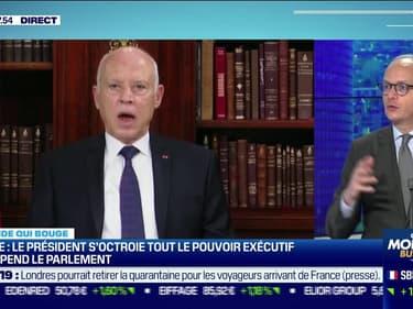 Tunisie: le Président s'octroie tout le pouvoir exécutif et suspend le parlement