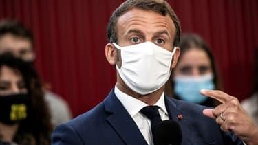 Emmanuel Macron, le 8 septembre dernier