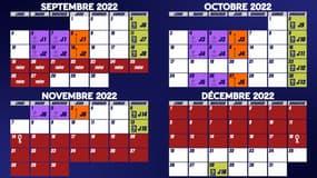 Saison 2022/23 : Mois par mois, le calendrier Ligue 1, Coupe de France et Coupes d'Europe