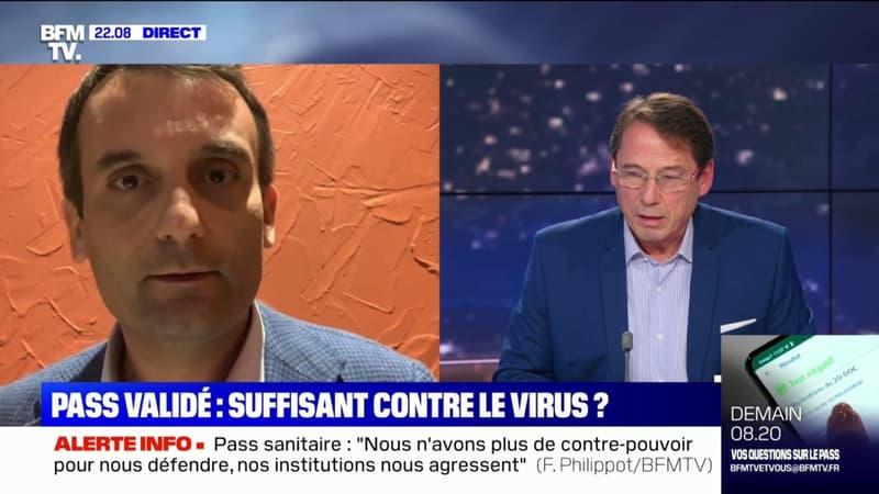 """""""Non, je ne suis pas vacciné"""": l'échange houleux entre Florian Philippot et Ludovic Toro"""