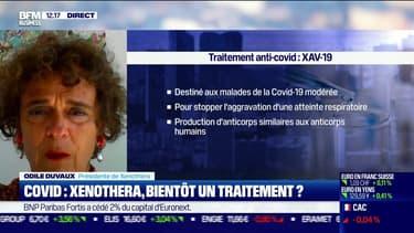 Odile Duvaux (Xenothera): Covid, Xenothera aura bientôt un traitement ? - 17/09