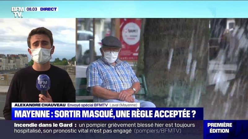 Port du masque obligatoire dans les espaces publics: comment cette mesure est-elle accueillie à Laval en Mayenne ?