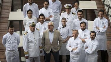 Alain Ducasse lance un  restaurant gastronomique sur l'eau et 100% électrique