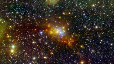 La planète est à une distance d'un million de millions de kilomètres de son étoile.