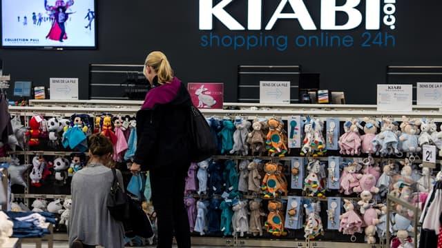 Kiabi, avec ses produits à petits prix, a connu une année record