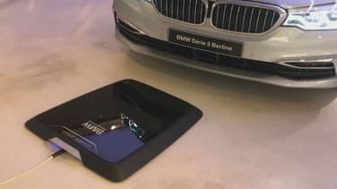 Un système de recharge à induction pour véhicules.