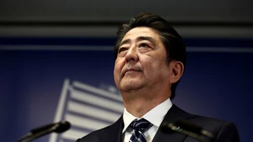 Le Premier ministre japonais Shinzo Abe, le 23 octobre 2017