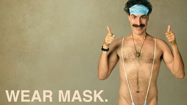 """Affiche de la suite de """"Borat 2"""""""