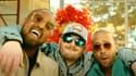Alonzo, Jul et Naps dans le clip de La Seleção (de gauche à droite)