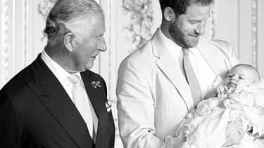 Charles, Harry et Archie.