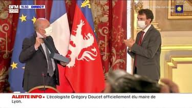 Grégory Doucet officiellement élu maire de Lyon