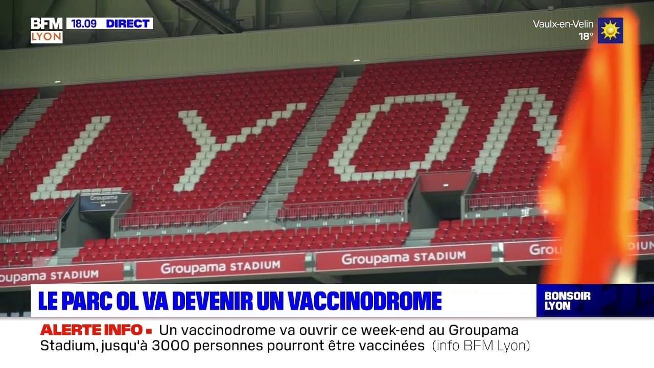 Le Groupama Stadium se transforme en vaccinodrome
