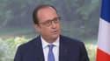 François Hollande lors de son interview, le 14 juillet 2015.