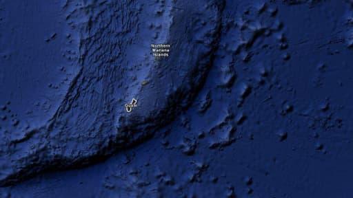 La fosse des Mariannes est la fosse océanique la plus profonde actuellement connue.