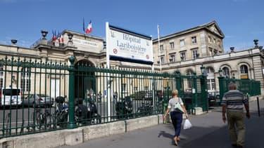 L'hôpital Lariboisière à Paris