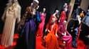 Près de deux ans après la mort d'Yves Saint Laurent, une première grande rétrospective rassemble, au Petit Palais à Paris, les créations de celui qui restera l'un des couturiers majeurs du XXe siècle. /Photo prise le 8 mars 2010/ REUTERS/Philippe Wojazer