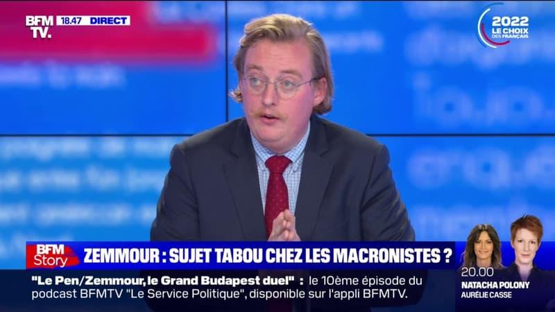 """Antoine Diers: """"Emmanuel Macron est en train désigner son véritable adversaire, Éric Zemmour"""""""