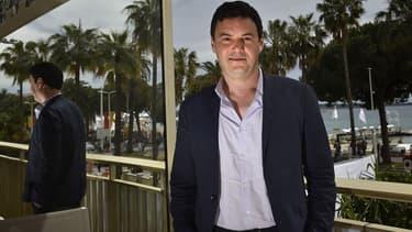 Thomas Piketty lors du festival de Cannes