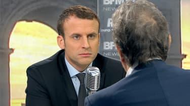 Emmanuel Macron était l'invité de BFMTV et RMC.