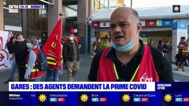 Lyon: en grève, les agents de sécurité des gares réclament une prime Covid