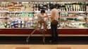 Un rayon de supermarché (photo d'illustration).