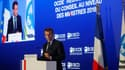Emmanuel Macron à l'OCDE ce 30 mai.