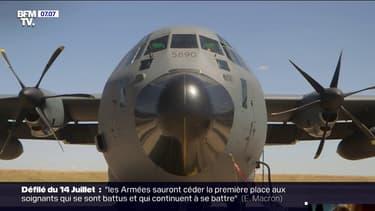 Cet avion ravitailleur ayant aidé au plus fort de la crise sanitaire va défiler pour la première fois au-dessus des Champs-Élysées