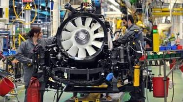 L'industrie est restée à son niveau de janvier, selon les données de l'Insee.