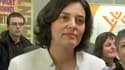 La ministre du Travail Myriam El Khomri visitait une mission locale des Ulis, dans l'Essonne, vendredi 11 mars 2016.