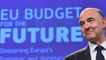 Pierre Moscovici, commissaire européen aux affaires économiques