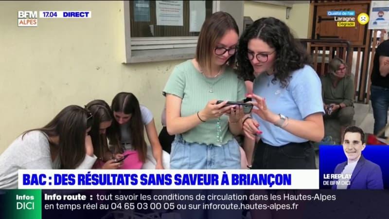 Briançon: les bacheliers et les parents attendaient les résultats avec impatience