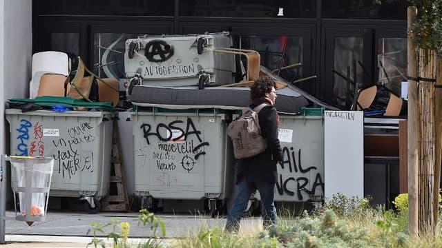 La faculté Jean Jaurès à Toulouse est bloquée depuis le 6 mars.