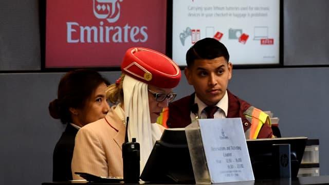 Emirates va proposer moins de vols vers les États-Unis le mois prochain.