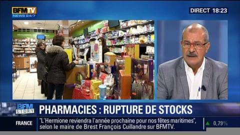 Les pharmacies sont en rupture de stock