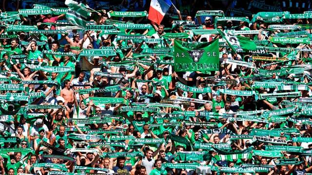 Les supporters de l'ASSE vont remplir Geoffroy-Guichard pour le derby contre l'OL.