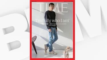 """Elliot Page en couverture du """"Time"""""""