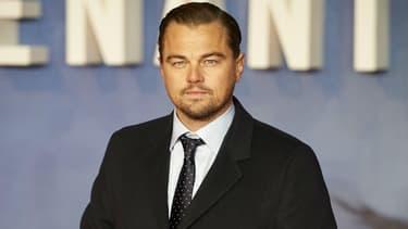 """Leonardo DiCaprio à la première de """"The Revenant"""" à Rome en janvier 2016"""
