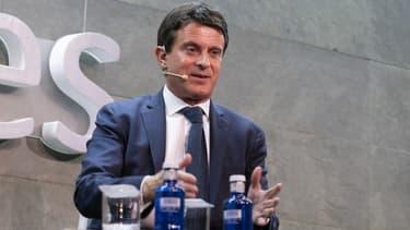 L'ex-Premier ministre français Manuel Valls à Barcelone, le 13 novembre 2018.